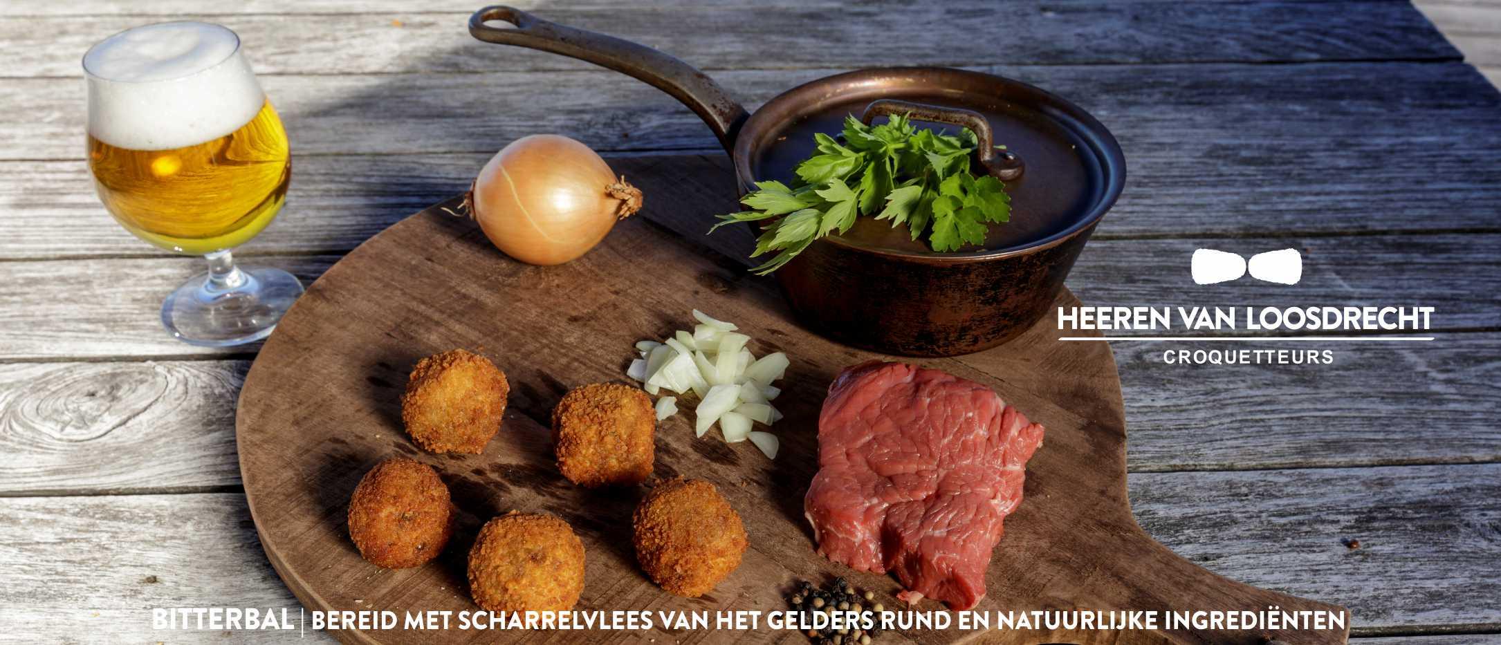 Heeren van Loosdrecht - Bitterbal met scharrelvlees